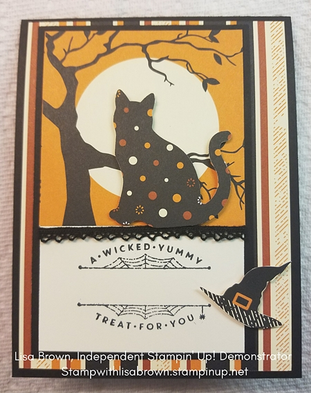 Cat Punch Card by Stampin' Up! 3
